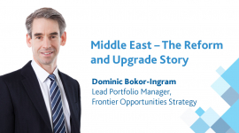 Middle East – The Reform and Index Upgrade Story