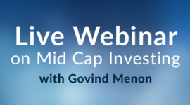 Live Webinar on Mid Cap Investing