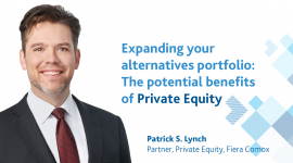 Expanding your alternatives portfolio: The potential benefits of Private Equity