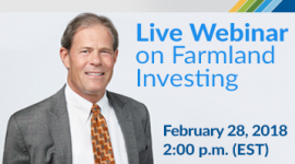 Live Webinar on Farmland Investing