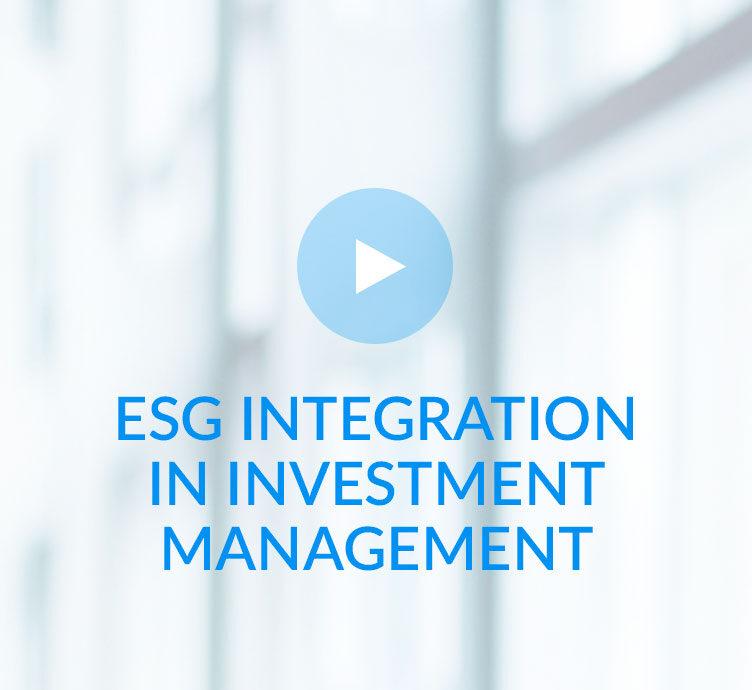 ESG integration in investment management